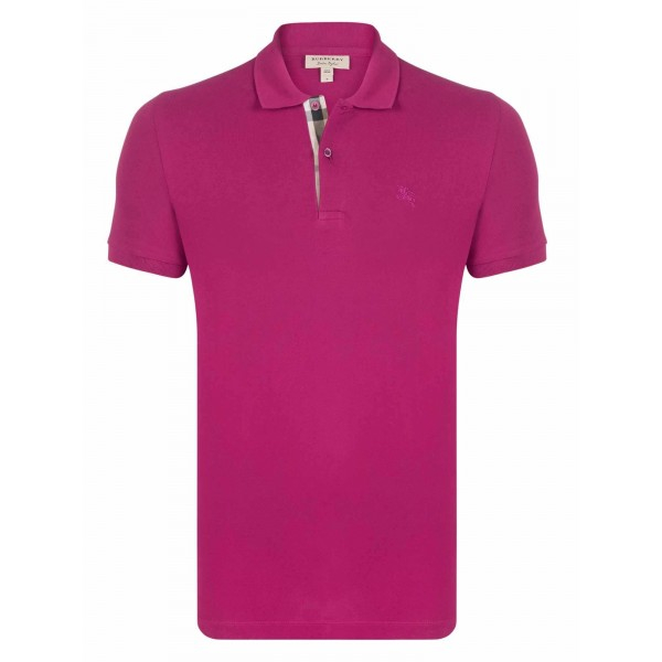 PACK 10 BURBERRY Hartford Polo Shirt in Coral Pink 0