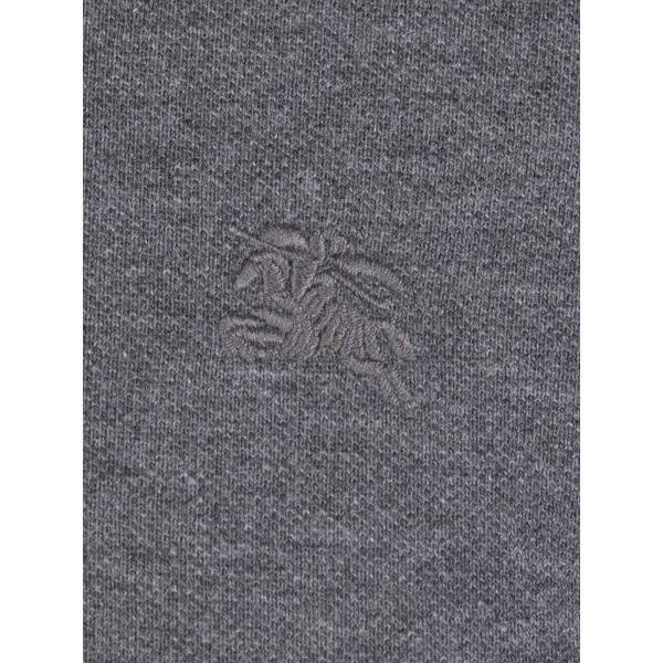 PACK 10 BURBERRY Hartford Polo Shirt in Dark Charcoal Melange 2