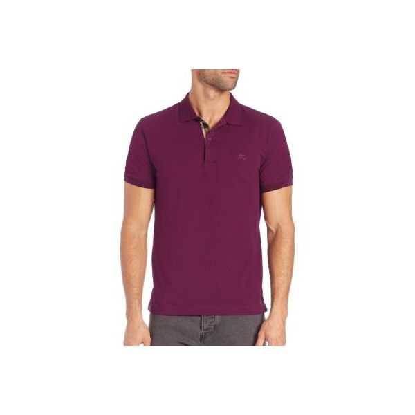 PACK 10 BURBERRY Hartford Polo Shirt in Dark Royal Purple 2