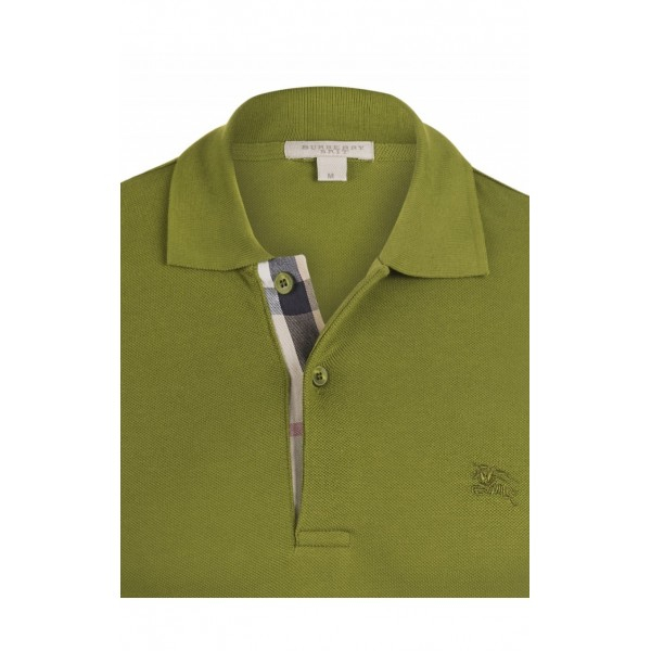 PACK 10 BURBERRY Hartford Polo Shirt in Green 1