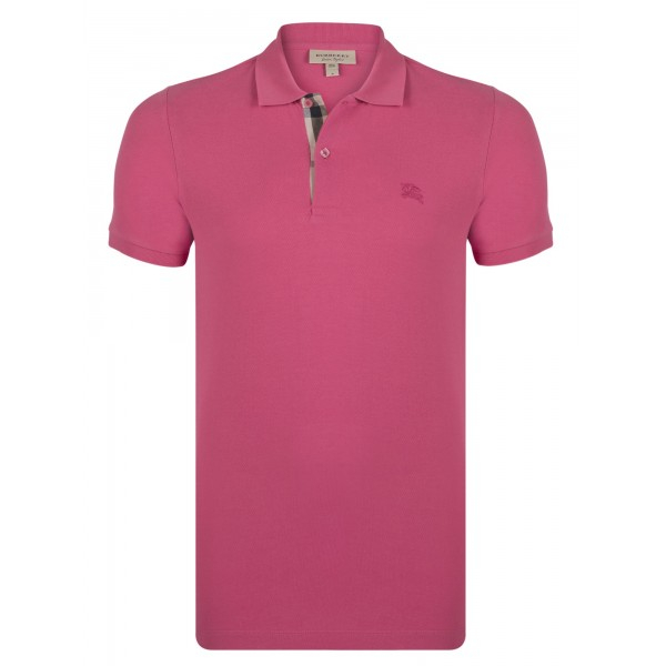 PACK 10 BURBERRY Hartford Polo Shirt in Raspberry Sorbet 0