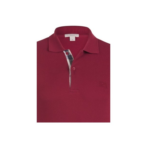 PACK 10 BURBERRY Hartford Polo Shirt in Red 1