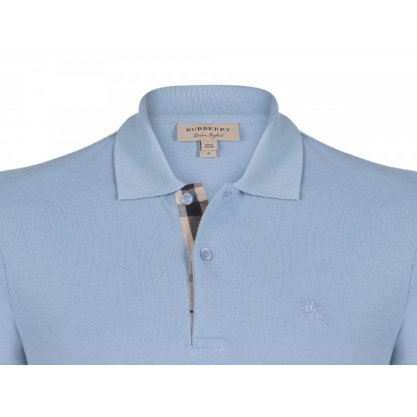 PACK 10  BURBERRY Hartford Polo Shirt in Turquoise 1