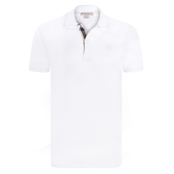 PACK 10 BURBERRY Hartford Polo Shirt in White 0