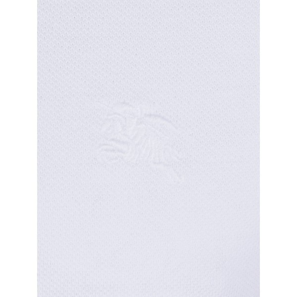 PACK 10 BURBERRY Hartford Polo Shirt in White 2