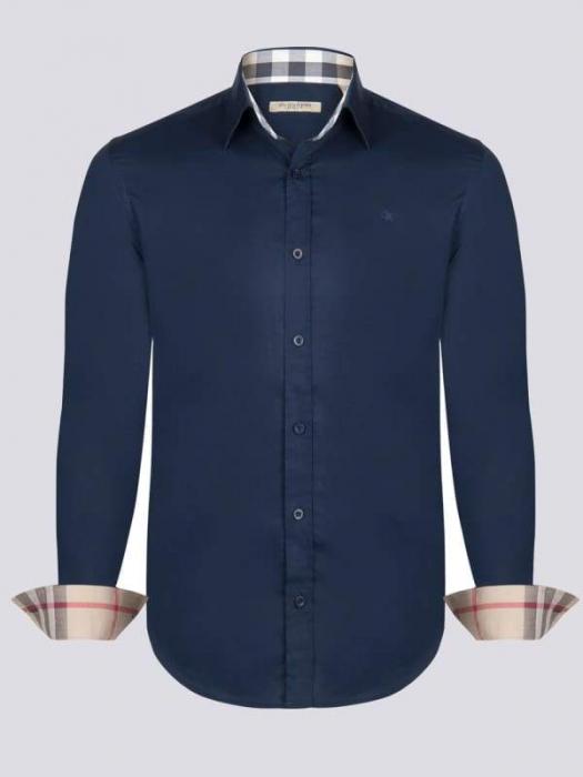 PACK 10 Burberry Men's Shirt Navy 0
