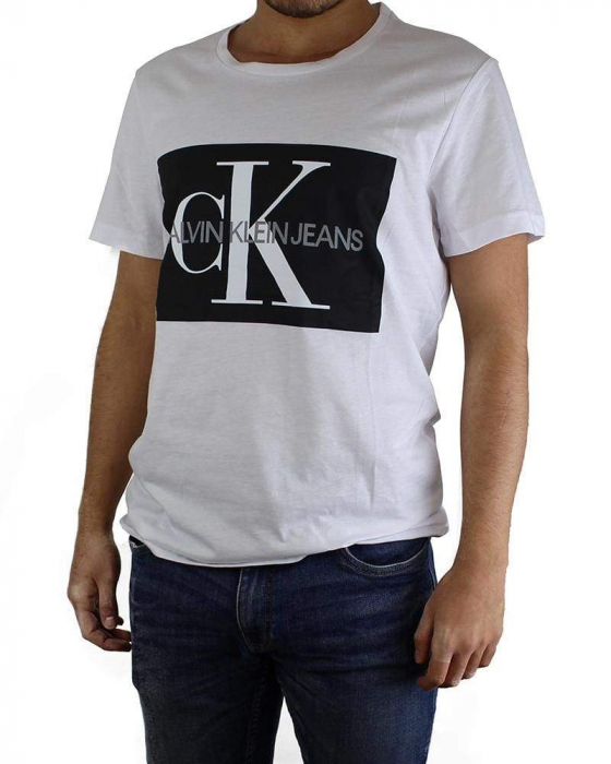 PACK 10 Calvin Klein T-Shirt Crew Neck Men's White 0