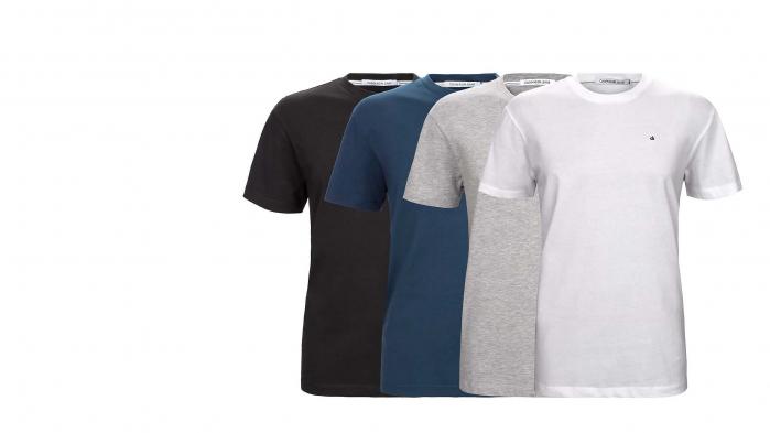 Tricou cu decolteu rotund(crew neck) Calvin Klein [0]