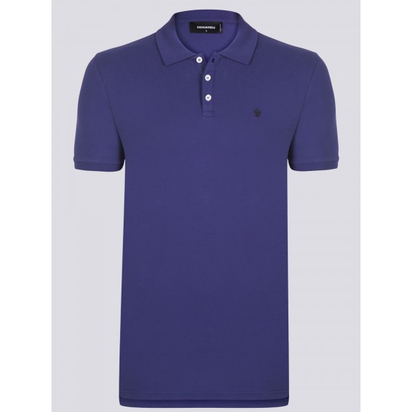 PACK 7 Dsquared2 Men's Polo Lila 0