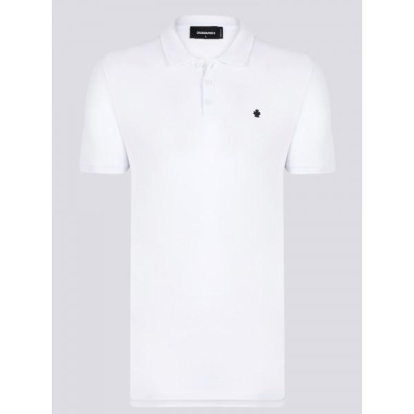 PACK 7 Dsquared2 Men's Polo White 0