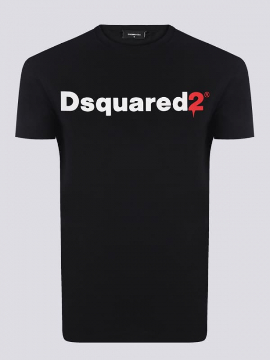 PACK 10 Dsquared2 Men's T-Shirts Black 0
