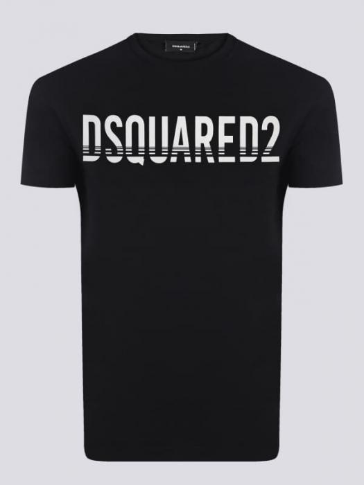 PACK 10 Dsquared2 Men's T-Shirts Black/White 0