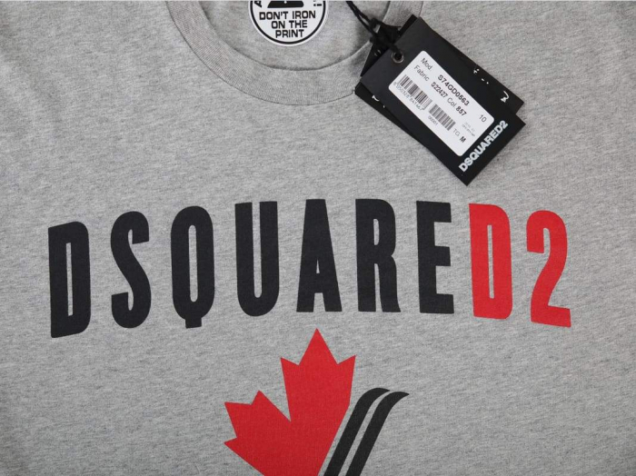 PACK 10 Dsquared2 Men's T-Shirts Gray 1