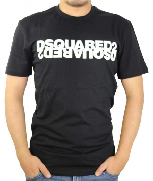 PACK 10 Dsquared2 Men's T-Shirts M2 Black 0