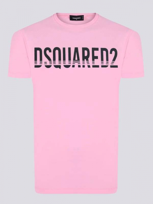 PACK 10 Dsquared2 Men's T-Shirts Pink 0