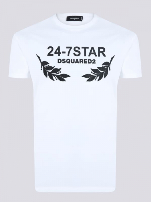 PACK 10 Dsquared2 Men's T-Shirts White/Black 0