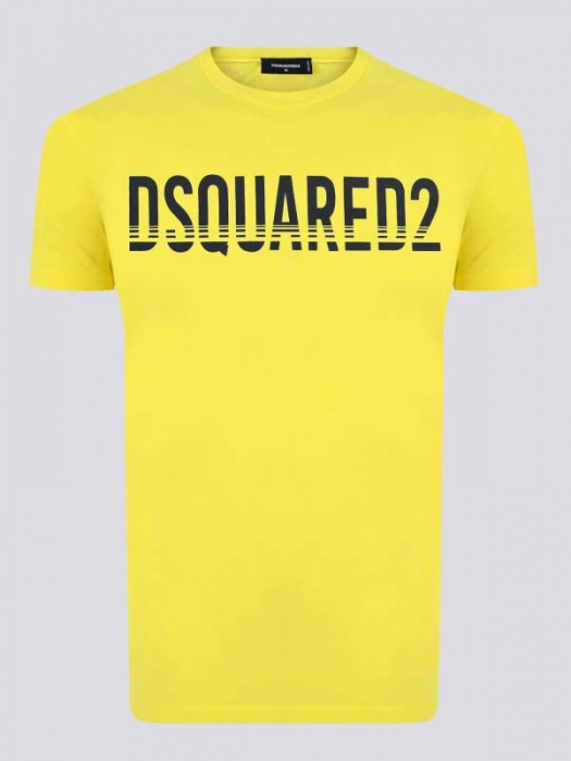 PACK 10 Dsquared2 Men's T-Shirts Yellow 0