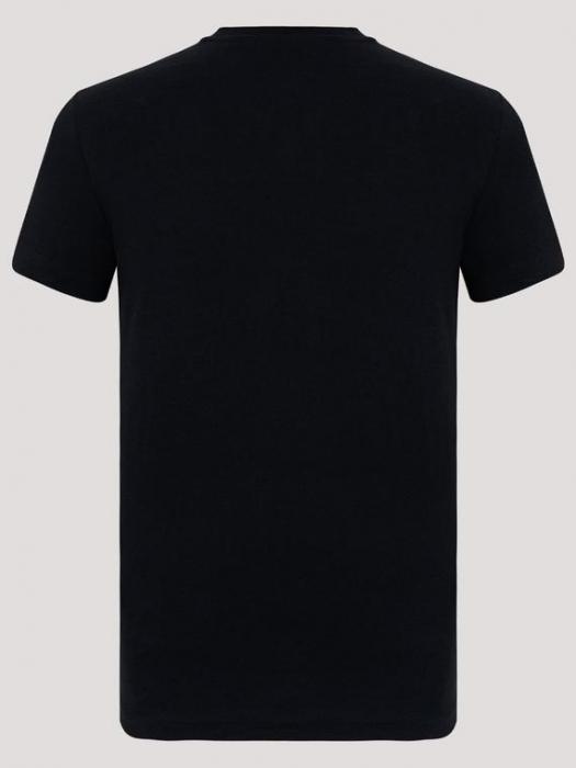 Tricou barbatesc Emporio Armani,negru [2]