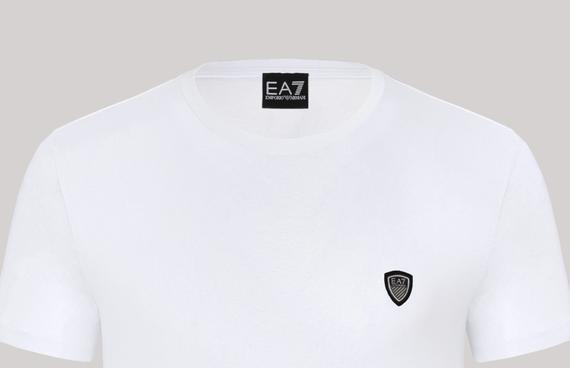 Tricou barbatesc Emporio Armani,alb [1]