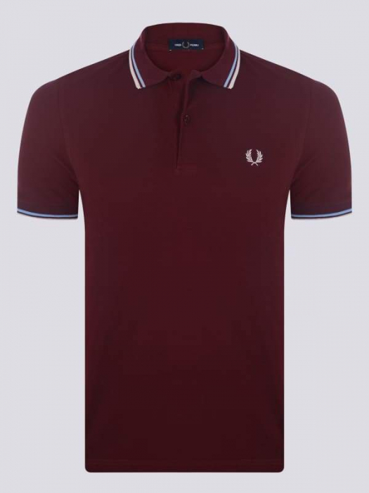PACK 7 Fred Perry Men's Polo Bordeaux 0