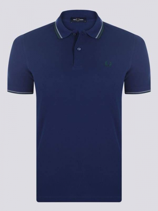 PACK 7 Fred Perry Men's Polo Navy/Green 0