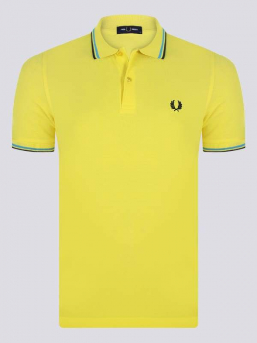 PACK 7 Fred Perry Men's Polo Yellow 0