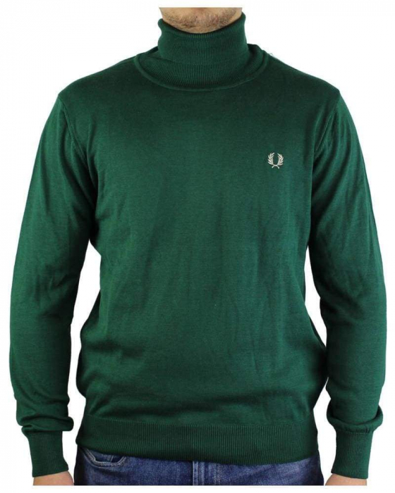 PACK 10 Fred Perry Rollneck Men's Pullover 0