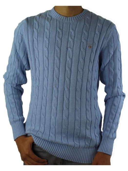 Pullover barbatesc Gant cable stitch [0]