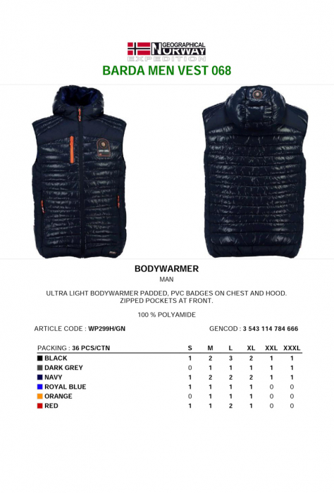 PACK 36 GEOGRAPHICAL NORWAY  VESTE ASORTATE 1