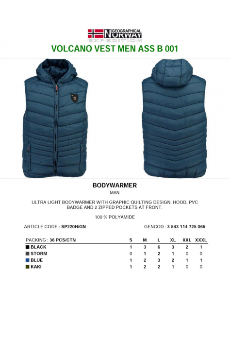 PACK 30 GEOGRAPHICAL NORWAY  VESTE ASORTATE 1