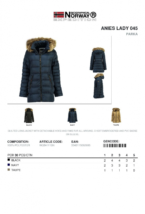 PACK 30 GEOGRAPHICAL NORWAY  GECI ASORTATE 4