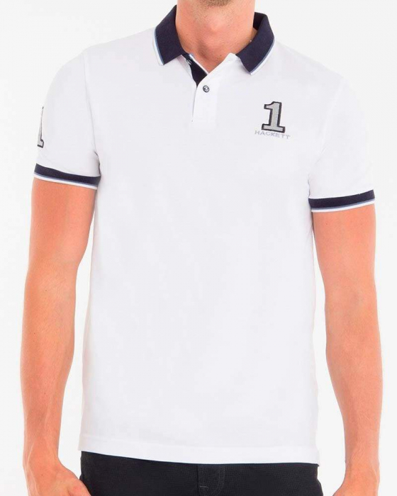 PACK 10 Hackett London Men's Polo Shirts Custom Fit 0