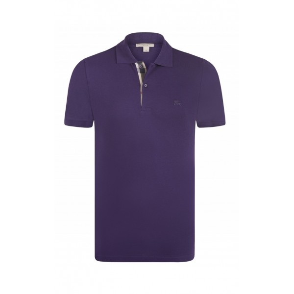 PACK 10  BURBERRY Hartford Polo Shirt purple 0