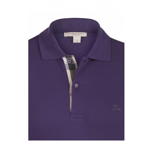 PACK 10  BURBERRY Hartford Polo Shirt purple 1