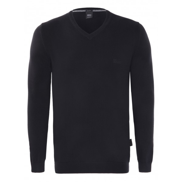 PACK 10 Hugo Boss BLACK LABEL V-Neck Sweater Black 0