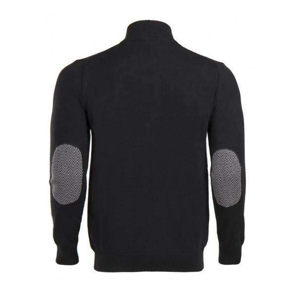PACK 5 HUGO BOSS BLACK LABEL zip front jumper – Black 1