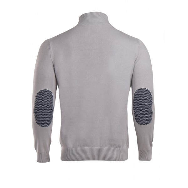 PACK 5 HUGO BOSS BLACK LABEL zip front jumper – Grey 1