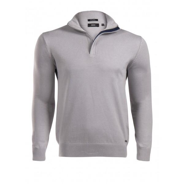 PACK 5 HUGO BOSS BLACK LABEL zip front jumper – Grey 0