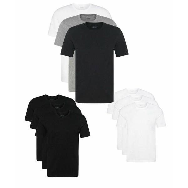 PACK 30 HUGO BOSS Cotton Classic Half Sleeve T-shirts (undershirt) - 3 colors 0
