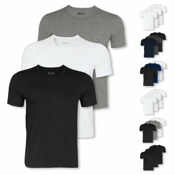 PACK 45 HUGO BOSS Cotton Classic Half Sleeve T-shirts (undershirt) - 9 colors. 0
