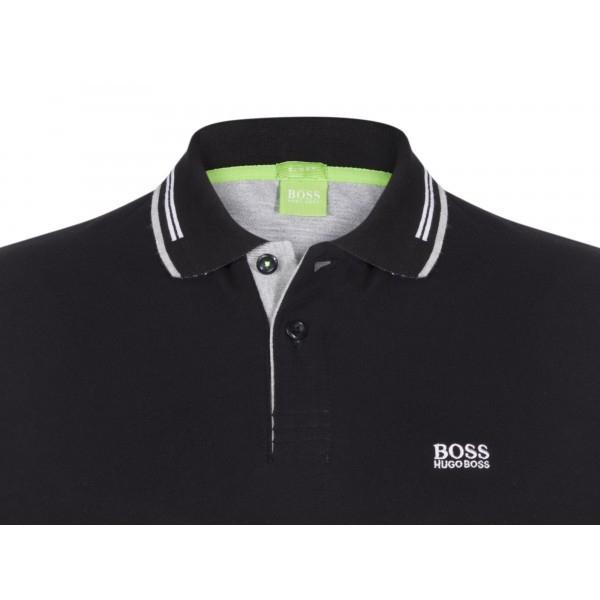 PACK 10 HUGO BOSS GREEN Label Poloshirt Paddy - Black 1
