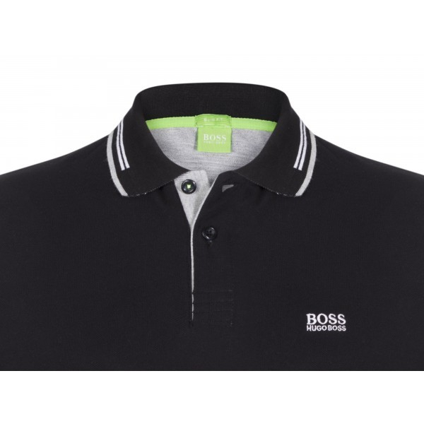 PACK 10 HUGO BOSS GREEN Label Poloshirt Paddy - Black_3 2