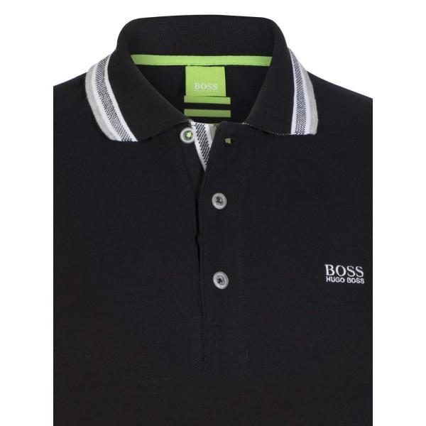 PACK 10 HUGO BOSS GREEN Label Poloshirt Paddy - Black_3 1