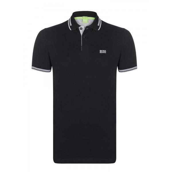 PACK 10 HUGO BOSS GREEN Label Poloshirt Paddy - Black 0