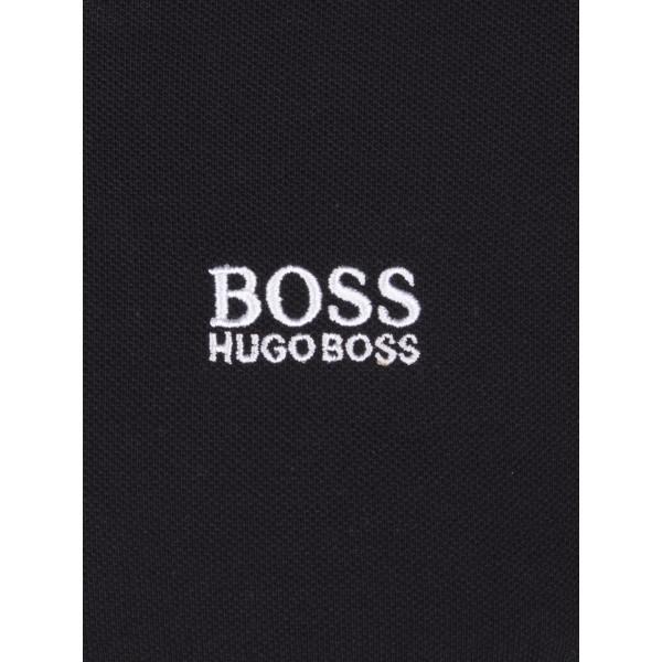 PACK 10 HUGO BOSS GREEN Label Poloshirt Paddy - Black 3