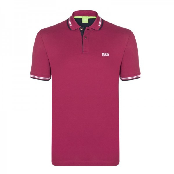PACK 10 HUGO BOSS GREEN Label Poloshirt Paddy - Bordeaux 0