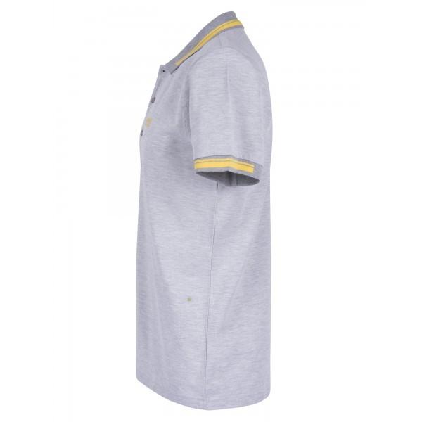 PACK 10 HUGO BOSS GREEN Label Poloshirt Paddy - Gray/Yellow 2