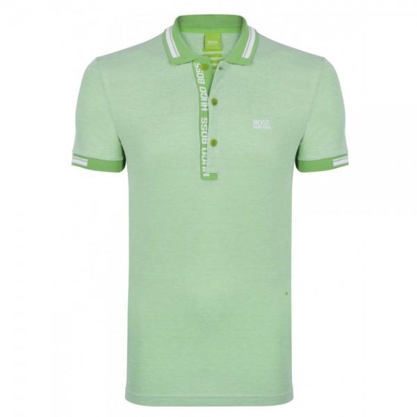 PACK 10 HUGO BOSS GREEN Label Poloshirt Paddy - Green/White 1