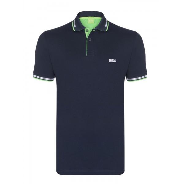 PACK 10 HUGO BOSS GREEN Label Poloshirt Paddy - Navy _1 0