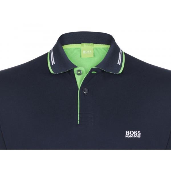 PACK 10 HUGO BOSS GREEN Label Poloshirt Paddy - Navy _1 1